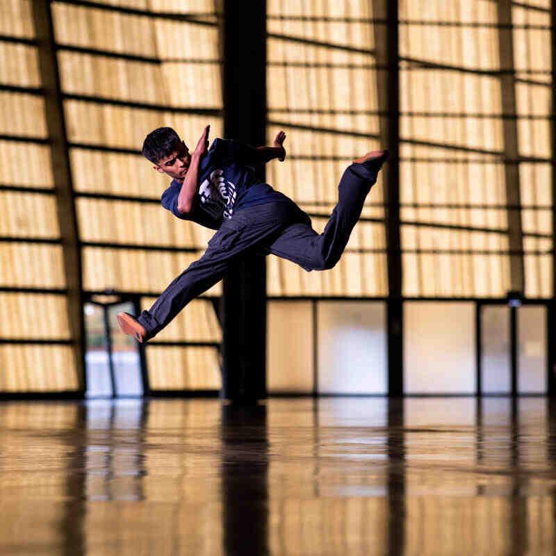 Qui a créé la danse hip hop?