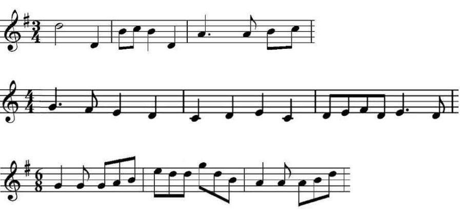 Comment compter les temps d'une chanson ?