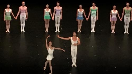 Comment appelez-vous un danseur de ballet?