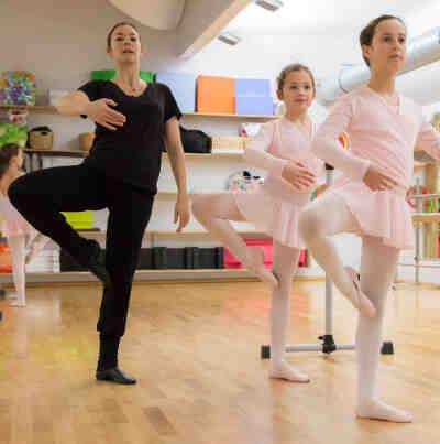Est-il trop tard pour danser avec le ballet?